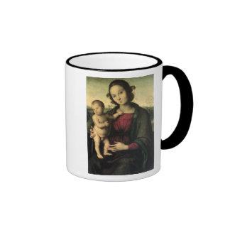 Madonna and Child, c.1495 Ringer Mug