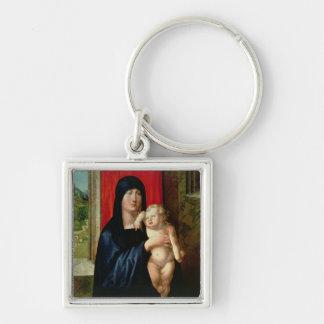 Madonna and Child, c.1496-99 Keychain
