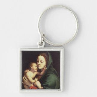Madonna and child, c.1510 keychain