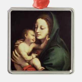 Madonna and child, c.1510 metal ornament