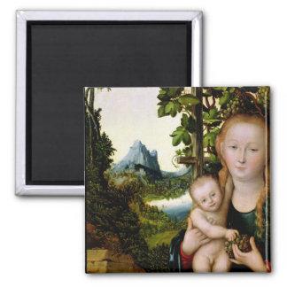 Madonna and Child, c.1525 Magnet