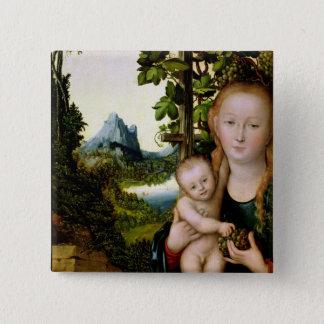 Madonna and Child, c.1525 Pinback Button