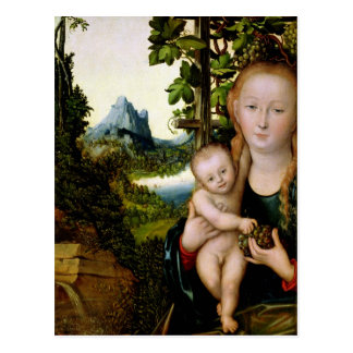 Madonna and Child, c.1525 Postcard