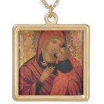 Madonna and Child, c.1650 (panel) Custom Necklace