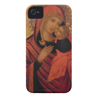 Madonna and Child, c.1650 (panel) iPhone 4 Cover