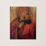 Madonna and Child, c.1650 (panel) Jigsaw Puzzles