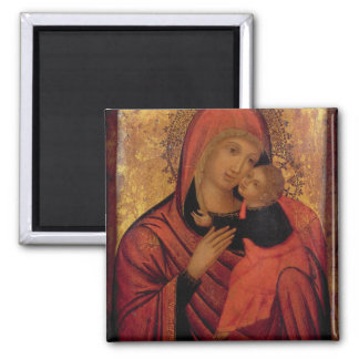 Madonna and Child, c.1650 (panel) Magnet