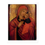 Madonna and Child, c.1650 (panel) Postcards