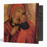Madonna and Child, c.1650 (panel) Vinyl Binders