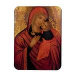 Madonna and Child, c.1650 (panel) Vinyl Magnet