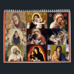 "Madonna and Child Calendar<br><div class=""desc"">This is a beautiful Madonna and Child Calendar for 2020.  It features a lovely depiction of the Blessed Virgin Mary and baby Jesus for every month of the year.  Makes for a welcome Christmas gift.</div>"