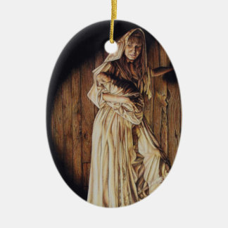 Madonna and Child Christ Ornament