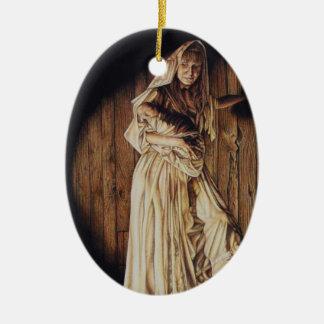Madonna and Child Christ Ornament