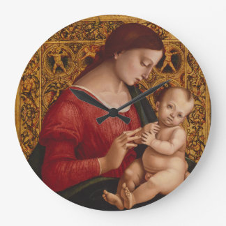 Madonna and Child, circa 1505-07 Large Clock
