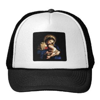 Madonna and Child Custom Hat Square