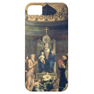 Madonna and Child Enthroned between SS. Francis, J iPhone 5 Covers