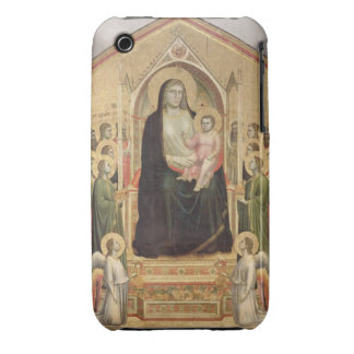 Madonna and Child Enthroned, c.1300-03 (PRE-restor Case-Mate iPhone 3 Case