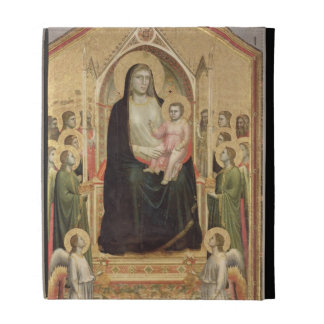 Madonna and Child Enthroned, c.1300-03 (PRE-restor iPad Cases