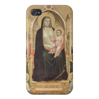 Madonna and Child Enthroned, c.1300-03 (PRE-restor iPhone 4/4S Covers