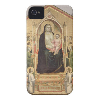 Madonna and Child Enthroned, c.1300-03 (PRE-restor iPhone 4 Case