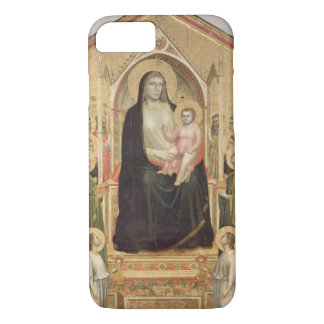 Madonna and Child Enthroned, c.1300-03 (PRE-restor iPhone 7 Case