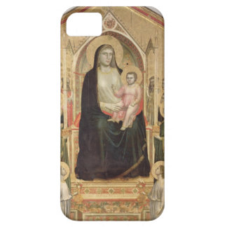 Madonna and Child Enthroned, c.1300-03 (PRE-restor iPhone SE/5/5s Case
