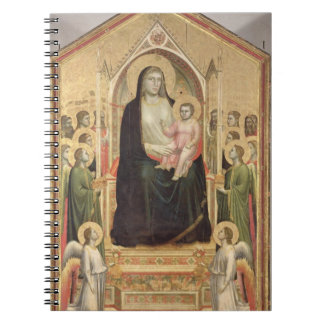 Madonna and Child Enthroned, c.1300-03 (PRE-restor Notebook