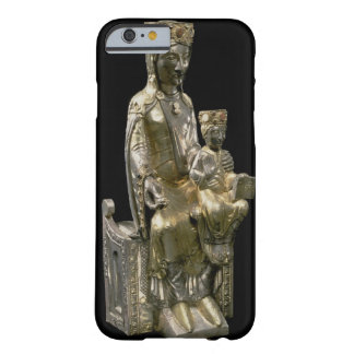 Madonna and Child Enthroned, statuette, French, 12 Barely There iPhone 6 Case