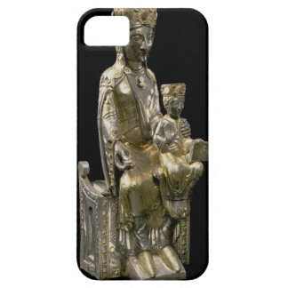 Madonna and Child Enthroned, statuette, French, 12 iPhone 5 Cover