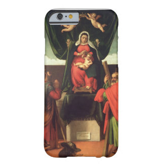 Madonna and Child Enthroned with Four Saints, 1546 Barely There iPhone 6 Case
