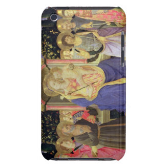 Madonna and Child enthroned with saints (altarpiec Barely There iPod Cover