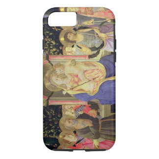 Madonna and Child enthroned with saints (altarpiec iPhone 8/7 Case