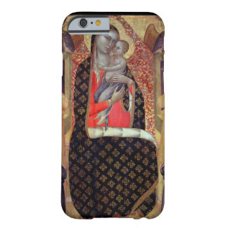 Madonna and child enthroned with six angels (panel barely there iPhone 6 case