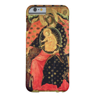 Madonna and Child Enthroned with Two Devout People Barely There iPhone 6 Case