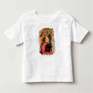 Madonna and Child Enthroned with Two Devout People Tee Shirt