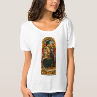 Madonna and Child Enthroned Women's T-Shirt