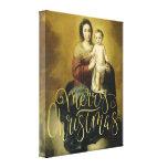 Madonna and Child, Fine Art Christmas Canvas