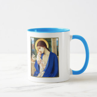 Madonna and Child. Fine Art Christmas Gift Mugs