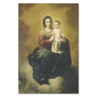 Madonna and Child, Fine Art Christmas Tissue Paper
