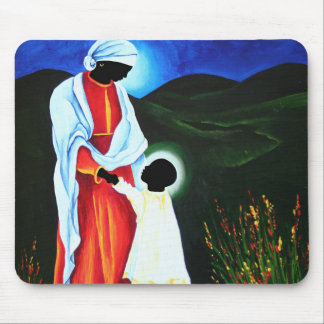 Madonna and child - First steps 2008 Mouse Pad
