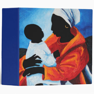 Madonna and child - First words 2008 3 Ring Binder