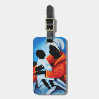 Madonna and child - First words 2008 Bag Tag