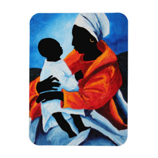 Madonna and child - First words 2008 Magnet