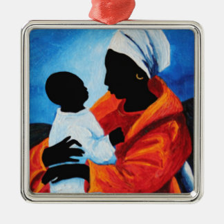 Madonna and child - First words 2008 Metal Ornament