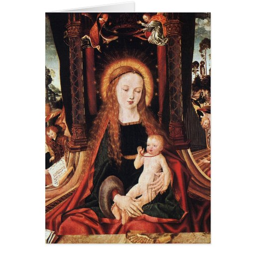 Madonna and Child Greeting Cards
