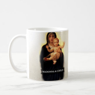 Madonna And Child Historical Classic White Coffee Mug