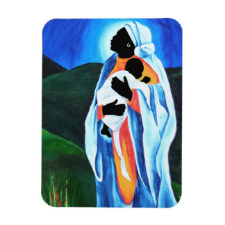 Madonna and child - Hope for the world 2008 Magnet