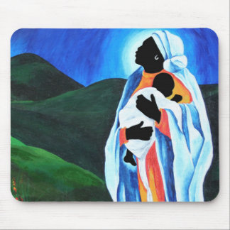 Madonna and child - Hope for the world 2008 Mouse Pad
