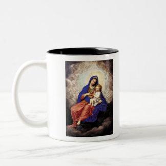 Madonna and Child in Glory Coffee Mug