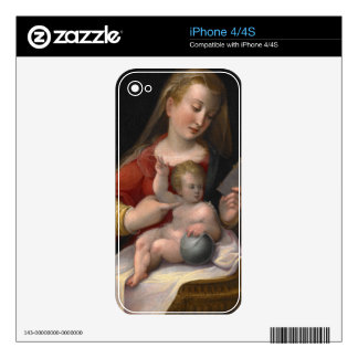 MADONNA AND CHILD iPhone 4 SKINS